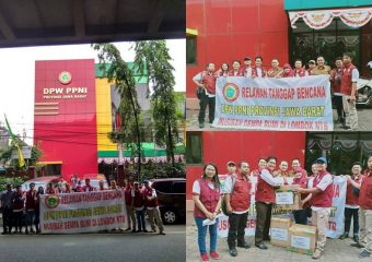 PPNI volunteer for Earthquake disaster in Lombok
